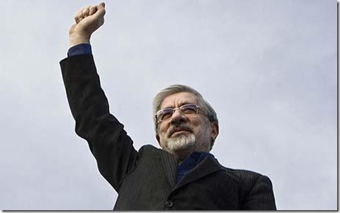 Iranian elected president Mousavi